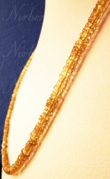 aranytopáz kristály lánc