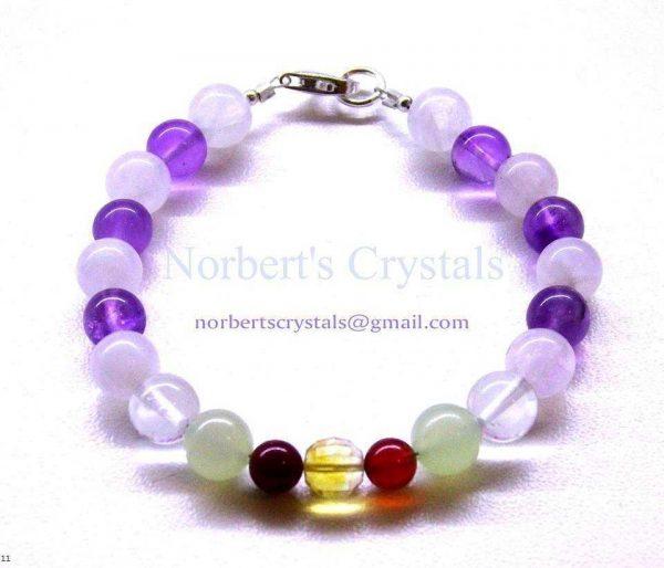 Norbert's Crystals karkötők