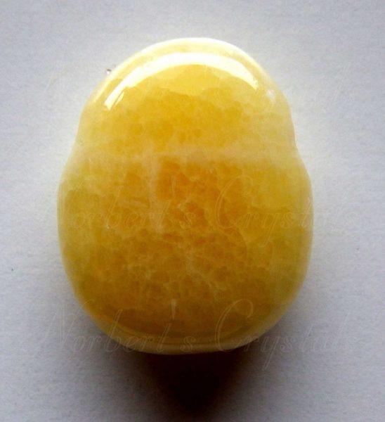 narancs kalcit medál