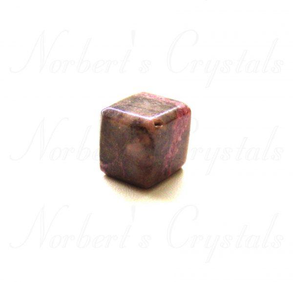 rhodonit kocka